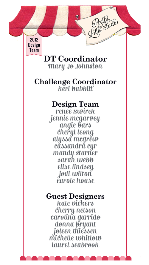 2012 design team