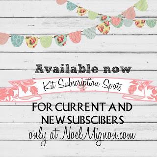 Noel mignon kit subscription