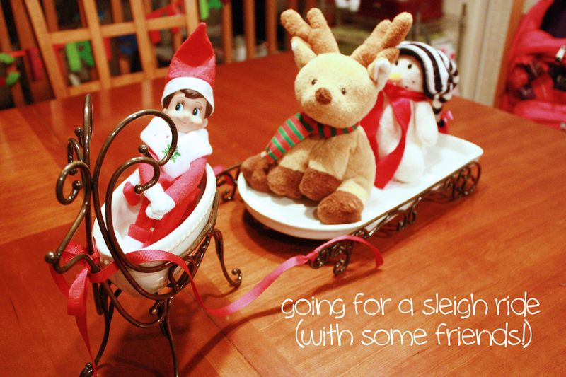 Elf sleigh ride