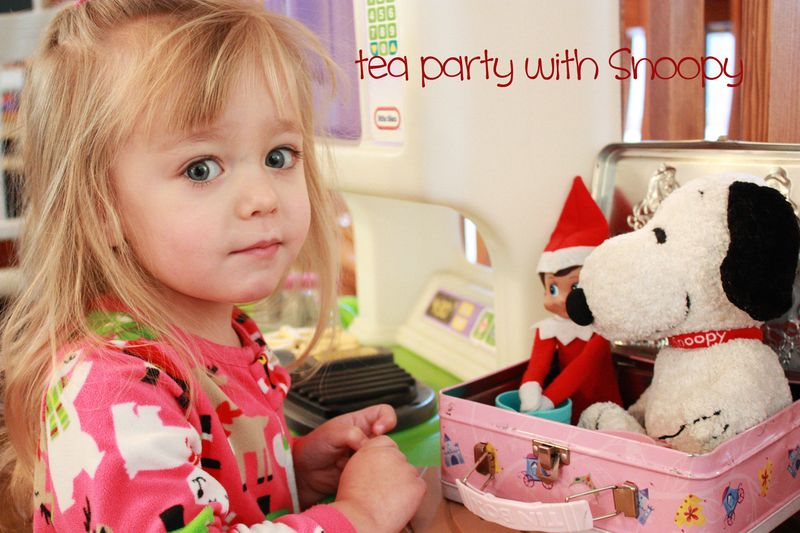 Elf tea party