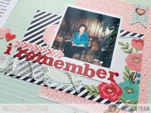 I remember 2
